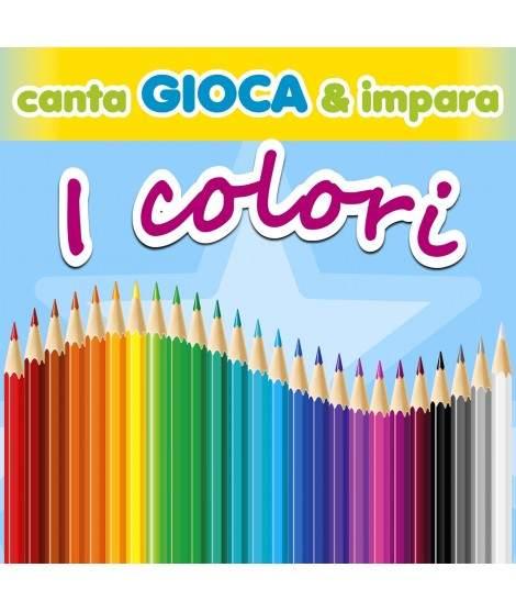 CANTA GIOCA & IMPARA... I COLORI - PDF + Mp3