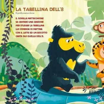 LE 10 TABELLINE - libro + cd