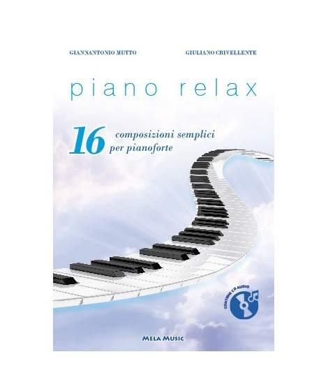 PIANO RELAX - libro con cd