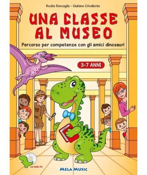 UNA CLASSE AL MUSEO - libro + cd