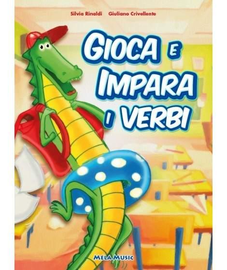 GIOCA E IMPARA I VERBI - libro con cd