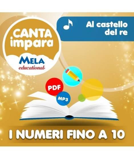 I NUMERI FINO A 10 - AL CASTELLO DEL RE PDF + Mp3