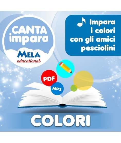 COLORI - IMPARA I COLORI CON GLI AMICI PESCIOLINI PDF + Mp3