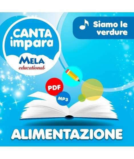 ALIMENTAZIONE - SIAMO LE VERDURE PDF + Mp3