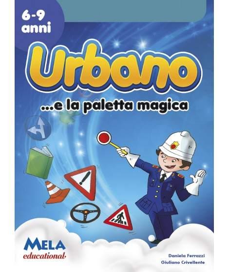 URBANO E LA PALETTA MAGICA - libro + cd