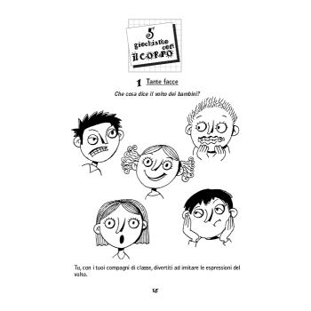 GIOCHIAMO CON IL CORPO - libro + cd