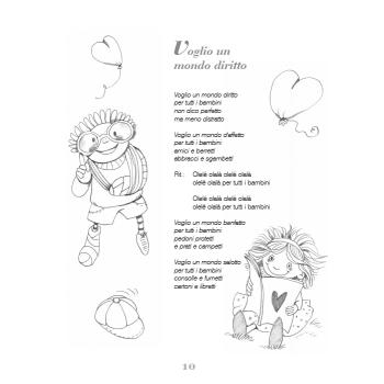 VOGLIO UN MONDO DIRITTO - libro + cd