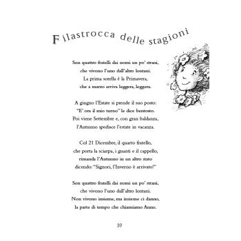 LA GIRANDOLA DELLE STAGIONI - libro + cd