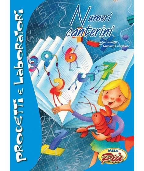 NUMERI CANTERINI - libro + cd