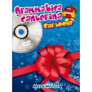 GRAMMATICA CANTERINA CARTOONS - libro + dvd