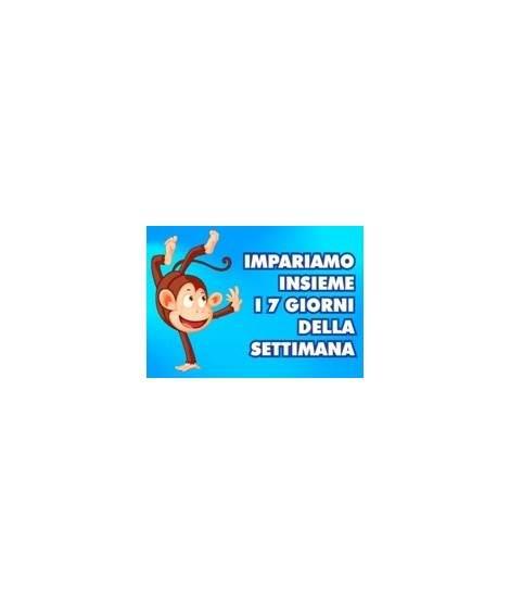 I GIORNI DELLA SETTIMANA - PDF + Mp3