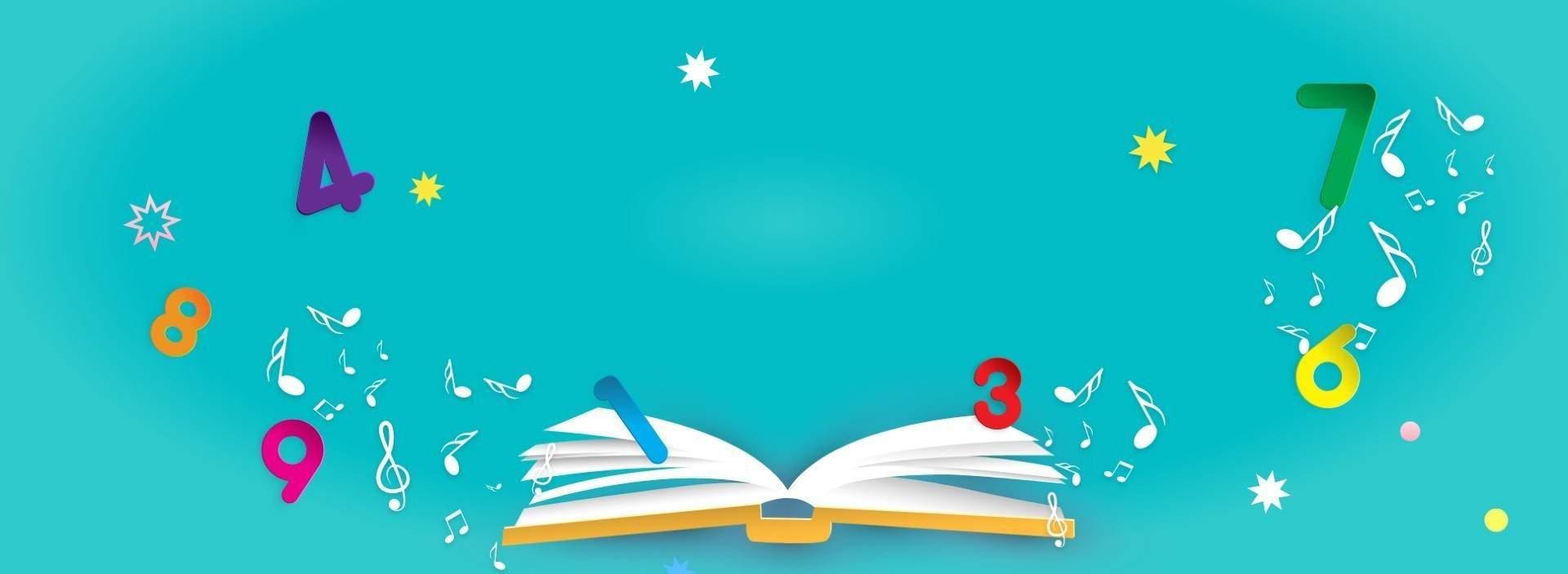 Libri di matematica per bambini |Mela Music